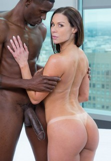MILF Kendra Lust visits Blacked
