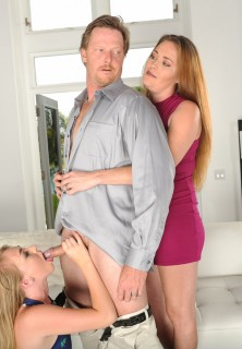 Iggy Amore blowjob at FamilyStrokes